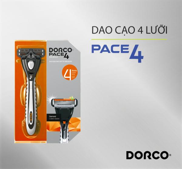 Dao cạo râu 4 lưỡi DORCO PACE 4