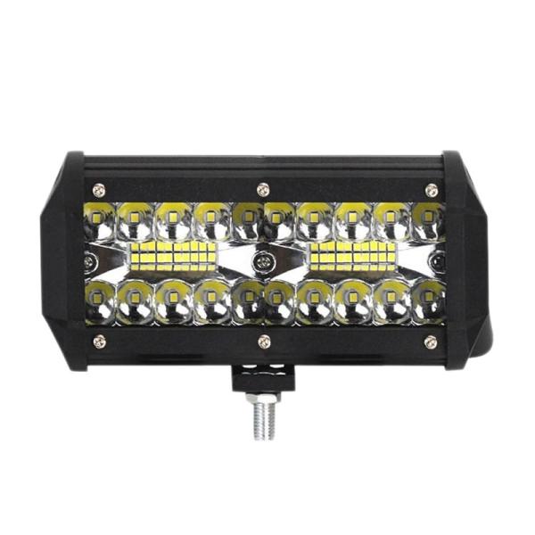 7 Inch LED Bar Light Off Road Fog Light120W 12V Beam Led Work Lamp for Niva Lada 4X4 Truck ATV Trucks Jeep Spotlight