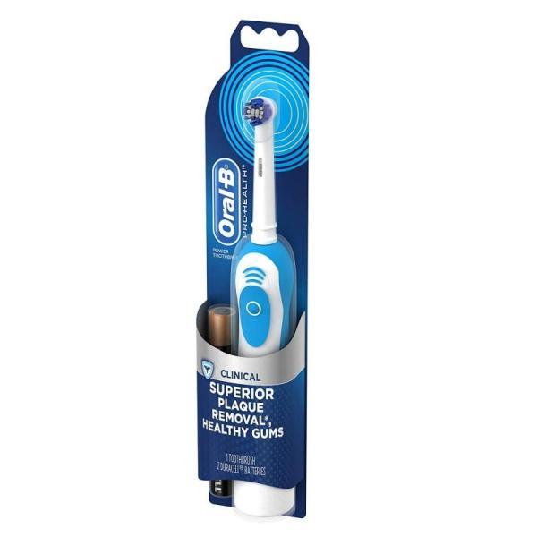 Bàn chải điện OralB Pro-Health Clinical cao cấp (có thể thay thế đầu bàn chải) - Tặng Kèm Pin