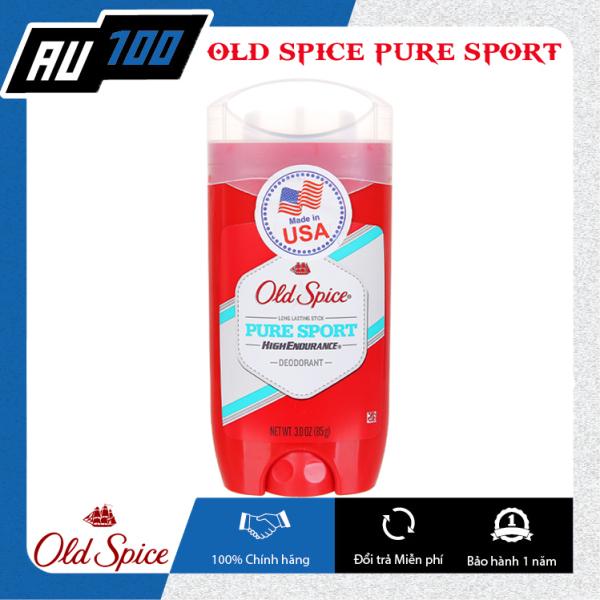 [FREESHIP] Sáp khử mùi Old Spice Pure Sport High Endurance 85g [Mùi thơm nam tính; Thiết kế nhỏ gọn; Giảm tiết mô hôi và không gây ố vàng] [AU100]