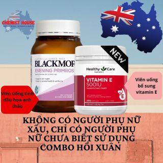 [Hàng Chuẩn Úc] Combo Hồi Xuân cho phụ nữ u40+ và sau sinh (Blackmores Anh Thảo + Vitamin E Healthy care) thumbnail