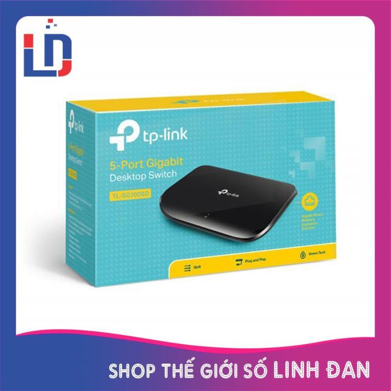 Bảng giá Bộ chia mạng 5 cổng TP-LINK TL-SG1005D Switch 5 port 1000Mbps Phong Vũ
