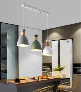 Bộ đèn thả HATSMED cao cấp kèm bóng LED chuyên dụng và đế ốp trần thumbnail