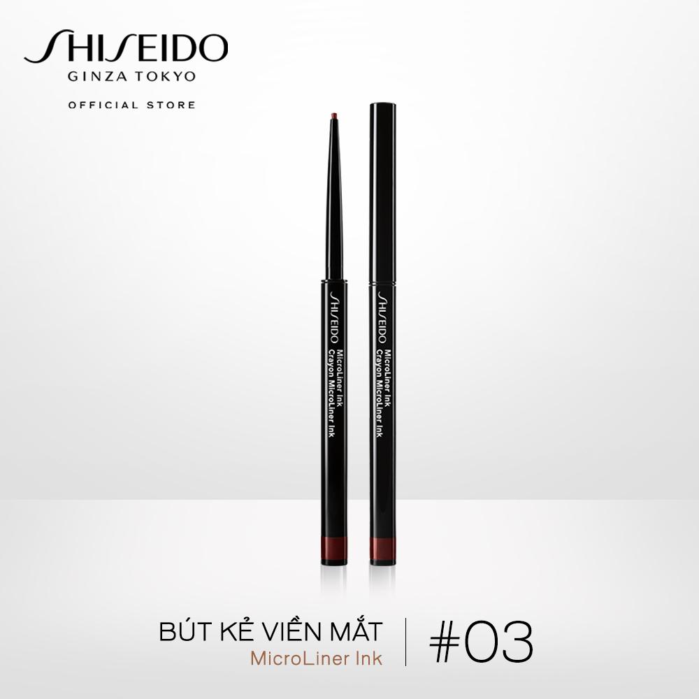 Bút kẻ viền mắt Shiseido Microliner Ink 0.08g