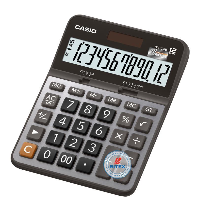 Mua Máy tính Casio DX-120B (Casio DX 120B) - N/k bởi Bitex - B/hành 02 năm