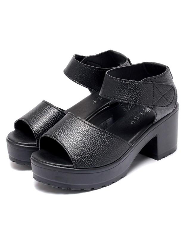 Giày sandal nữ cao gót S062D giá rẻ
