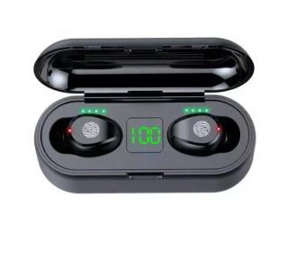 Tai Nghe Bluetooth Amoi F9 Tai Nghe Không Dây F9 Công Nghệ Bluetooth 5.0 Kén Sạc 2000 Mah Kiêm Sạc Dự Phòng Nút Điều Khiển Cảm Ứngchống Thấm Nước Chống Bụi Dùng Cho Mọi Điện Thoại 7