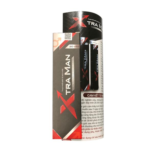 (Tuýp 20 viên) Viên sủi cải thiện chức năng sinh lý nam giới XTRA MAN