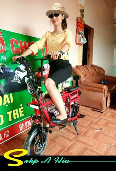 Phân phối xe đạp điện cho học sinh - Xe điện có 3 ghế có giỏ Adiman giỏ to đi 100k / lần sạc xe đạp điện mini xe đạp điện mini - xe đạp điện- xe điện - xe máy điện - xe điện người lớn - xe điện gấp gọn
