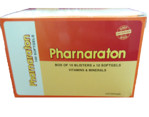 Sâm Pharnaraton Hộp 100 viên