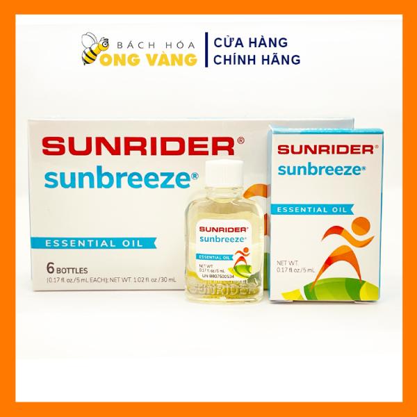 Tinh Dầu Sun Breeze - SunBreeze Của Mỹ, Tinh Dầu Sunrider Hàng Nhập Khẩu Có 100% Thành Phần Thảo Mộc Tự Nhiên