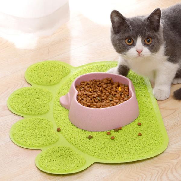 Thảm hứng cát văng, đồ ăn văng cho thú cưng