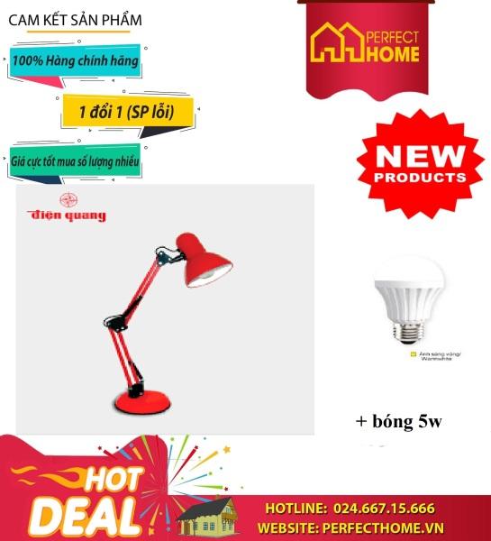 Đèn Bàn Bảo Vệ Thị Lực Điện Quang Đq Dkl14 R Bw, Đq Dkl14 G Bw, Đq Dkl14 B Bw, Đq Dkl14 G B, Đq Dkl14 B B Tặng Kèm Bóng