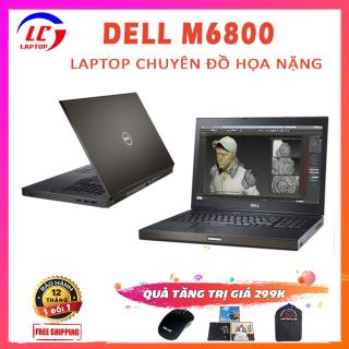 Laptop Trùm Đồ Họa Nặng, Laptop Đồ Họa Chuyên Nghiệp Dell Precision M6800, i7-4800MQ, VGA NVIDIA Quadro K3100M-4G, Màn 17.3 FullHD, Laptop Dell, Laptop i7 thumbnail