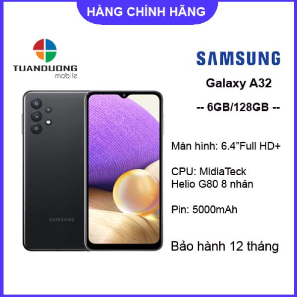 [Trả góp 0%]Điện thoại Samsung Galaxy A32 6GB/128GB - Hàng Mới Nguyên Hộp - Bảo Hành Chính Hãng