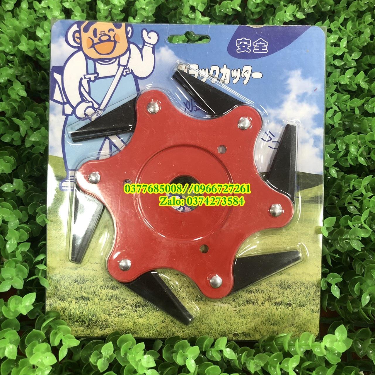Lư.ỡi cắt cỏ 6 cạnh chuyên dụng gắn vừa các loại máy cắt cỏ