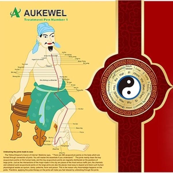 Bút dò huyệt châm cứu trị liệu bằng xung điện Aukewel2000B cao cấp