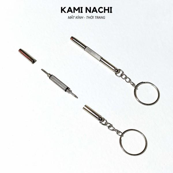 Giá bán Tua vít sửa kính 2 đầu Kami Nachi - Móc khóa đa năng phối đầu tô vít đa dụng