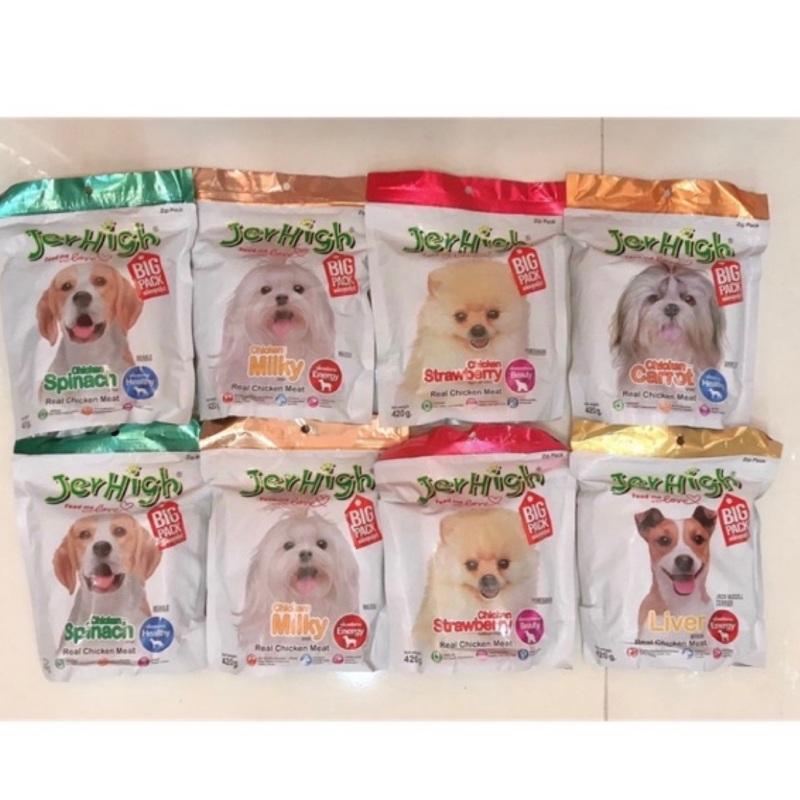 [SIÊU TIẾT KIỆM ] Bánh thưởng Jerhigh cho chó gói to 420gr