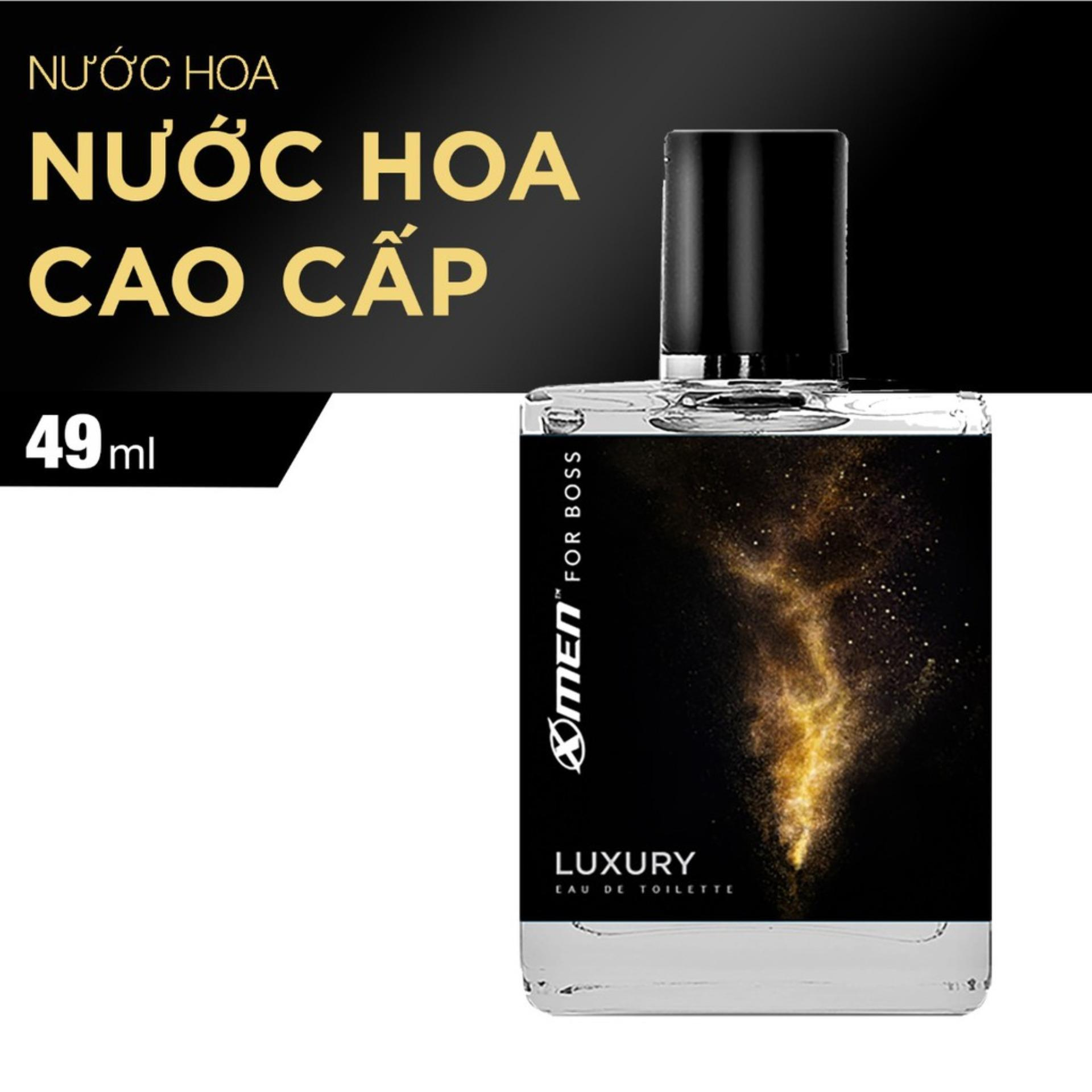 Nước hoa X-Men for Boss Motion, Luxury, Intense - chai 49ml