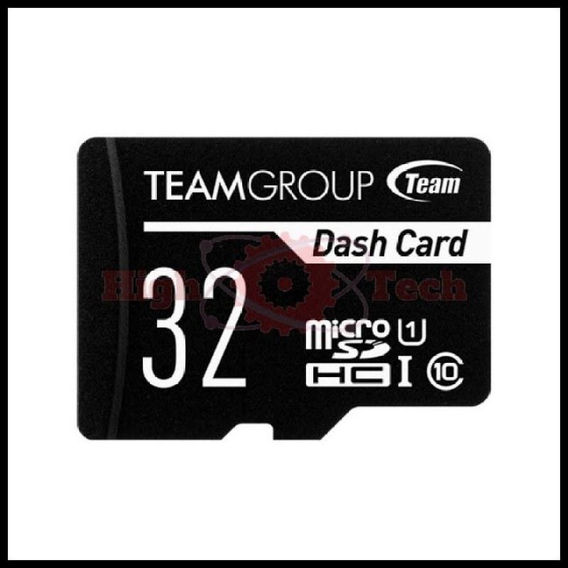Thẻ nhớ microSDHC Team 32GB chuyên dụng cho Camera up to 80MB-s class 10 U1 (Đen) -