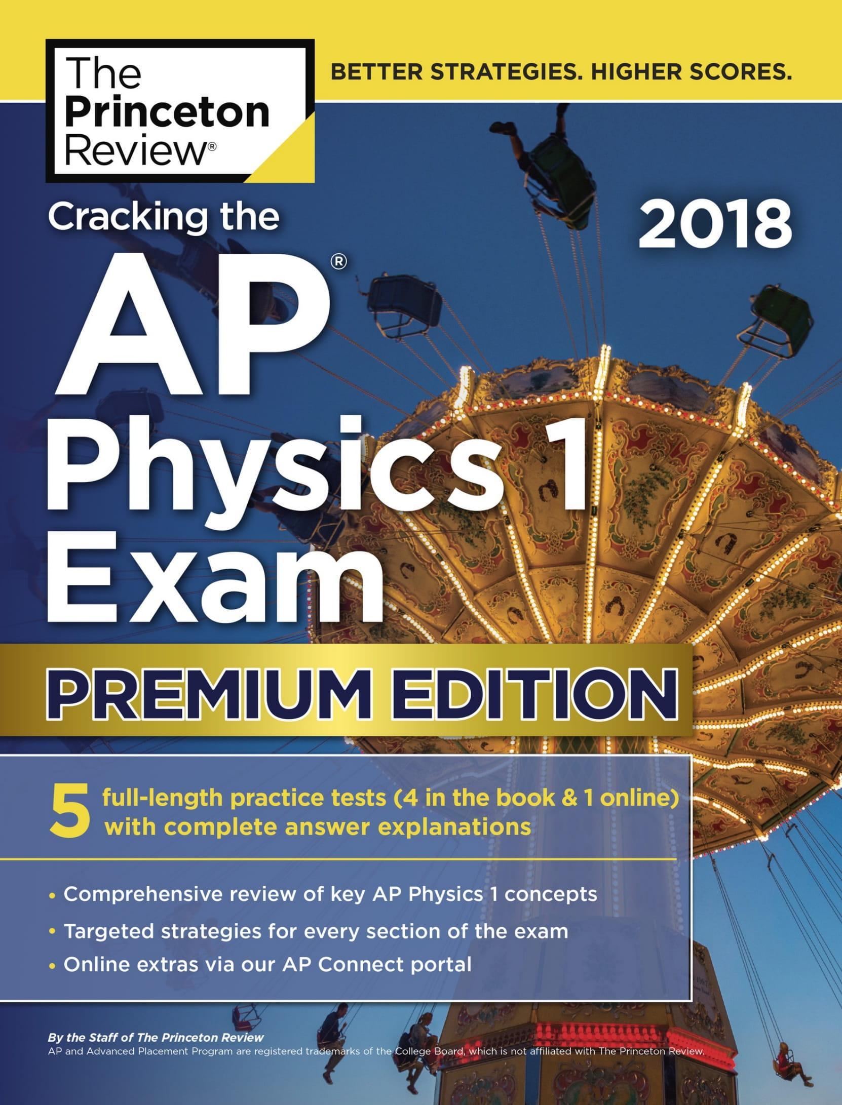 Mua Cracking the AP Physics 1 Exam, 2018 Edition