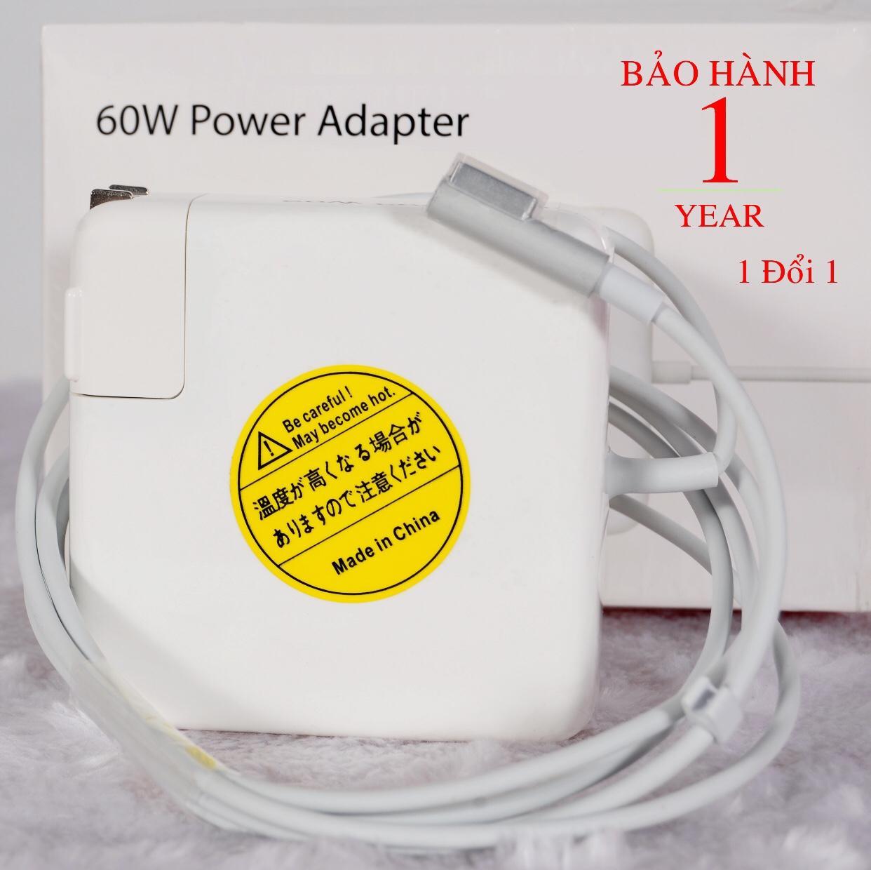 Bảng giá Sạc Macbook Pro 60w A1184 Zin ( 16.5v-3.65a) - Hàng nhập khẩu Phong Vũ