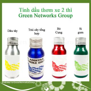 Tinh dầu thơm xe 2 thì - Phụ gia pha nhớt không đóng cặn cho xe xipo yaz nova Greennetworks ( Mùi Trái cây tổng hợp) thumbnail