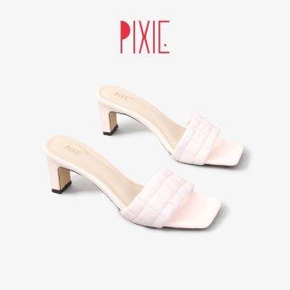 Guốc Cao Gót 5cm Chân Chỉ May Ô Pixie X768 thumbnail