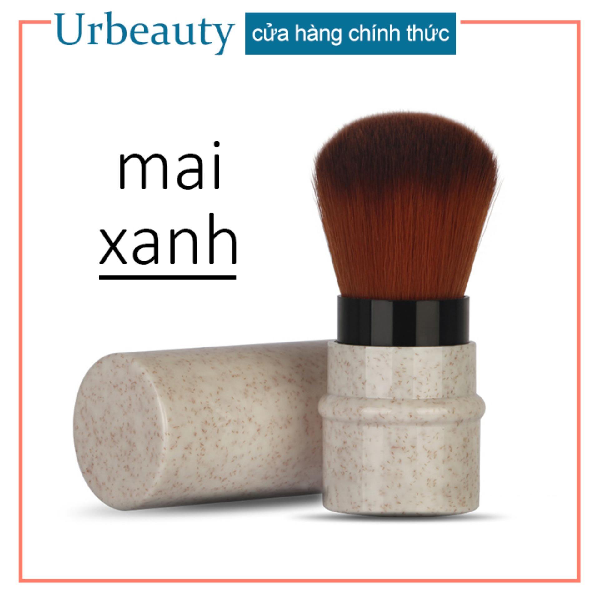 【Urbeauty】MAANGE 1 Pc xách tay mềm trang điểm má hồng phấn nền bàn chải trang điểm cao cấp