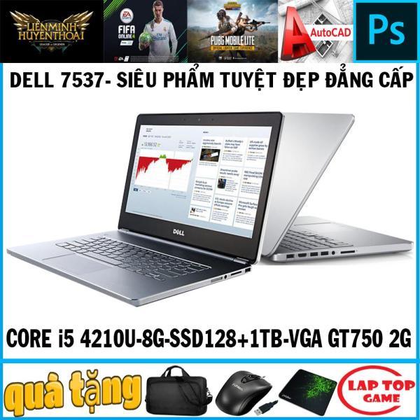 Bảng giá Dell N7537 Siêu Phẩm Sang Trọng Tuyệt Đẹp (Core i5-4210U, ram 8G, SSD128+ HDD 1TB, VGA NVIDIA GT 750M- 2G, màn 15.6″ HD) Phong Vũ