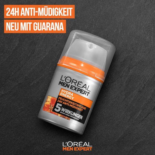 Kem dưỡng da cao cấp cho nam LORÉAL Men Expert Hydra Energy 24h - Hàng pháp nhập Đức