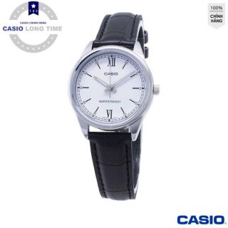 [Ủy Quền Bởi Casio Anh khuê] Đồng hồ nữ dây da Casio LTP-V005L-7B2UDF Mặt trắng , kim bạc - Tuổi Thọ Pin 3 Năm- Chống Nước , đồng hồ nam , đồng hồ kim , đồng hồ nữ , đồng hồ chống nước thumbnail
