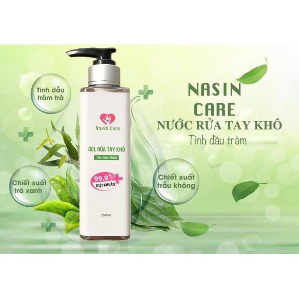 Gel Rửa Tay Nasin Care - Tiêu Diệt 100% Vi Khuẩn Gây Bệnh - Bảo Vệ Cơ Thể Trong Mùa Dịch giá rẻ