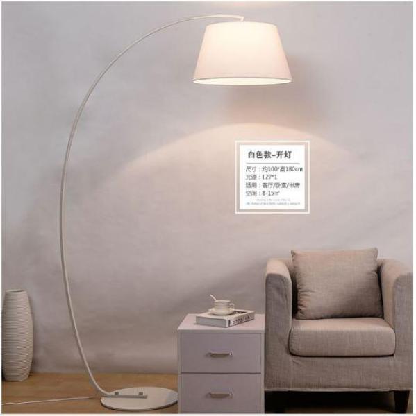 Bảng giá Đèn sàn Cao cấp dành cho phòng khách cao 2m thân cong - Tặng kèm bóng LED RẠNG ĐÔNG 7W