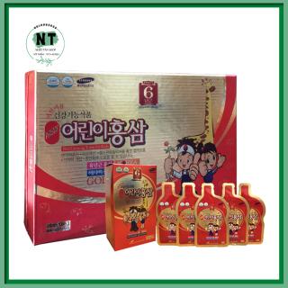 Nước Hồng Sâm Trẻ Em Hươu Cao Cổ Hàn Quốc bổ sung dinh dưỡng hộp 30 gói thumbnail
