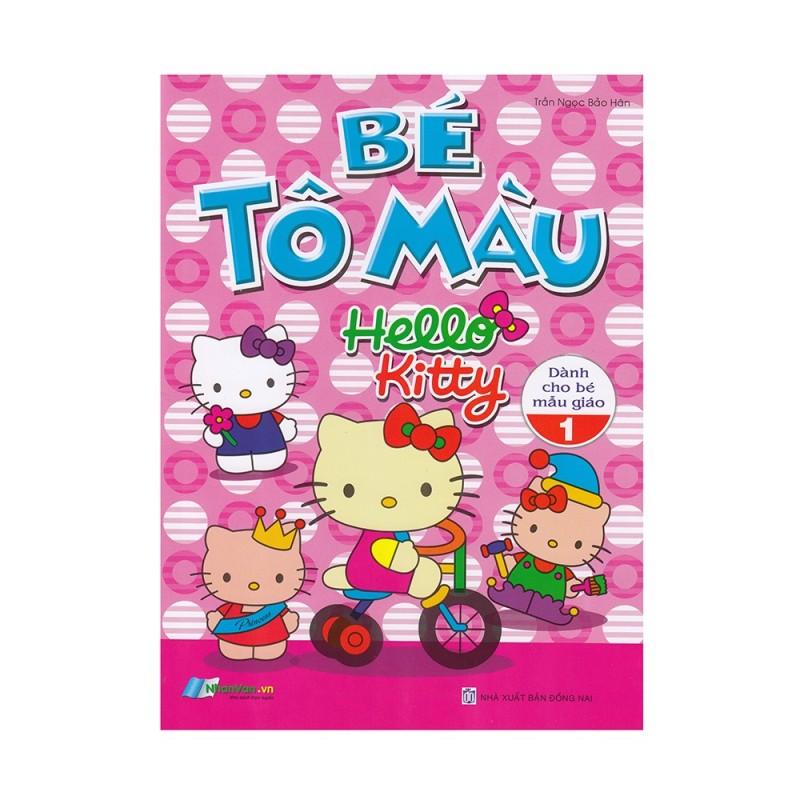 Mua Sách - Bé Tô Màu Hello Kitty (Dành Cho Bé Mẫu Giáo 1) - 8935072935214