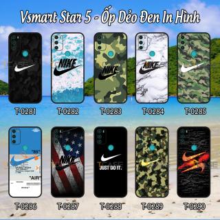 [HCM]Ốp lưng Vsmart Star 5 - Ốp dẻo đen in hình thể thao Ni_ke thumbnail