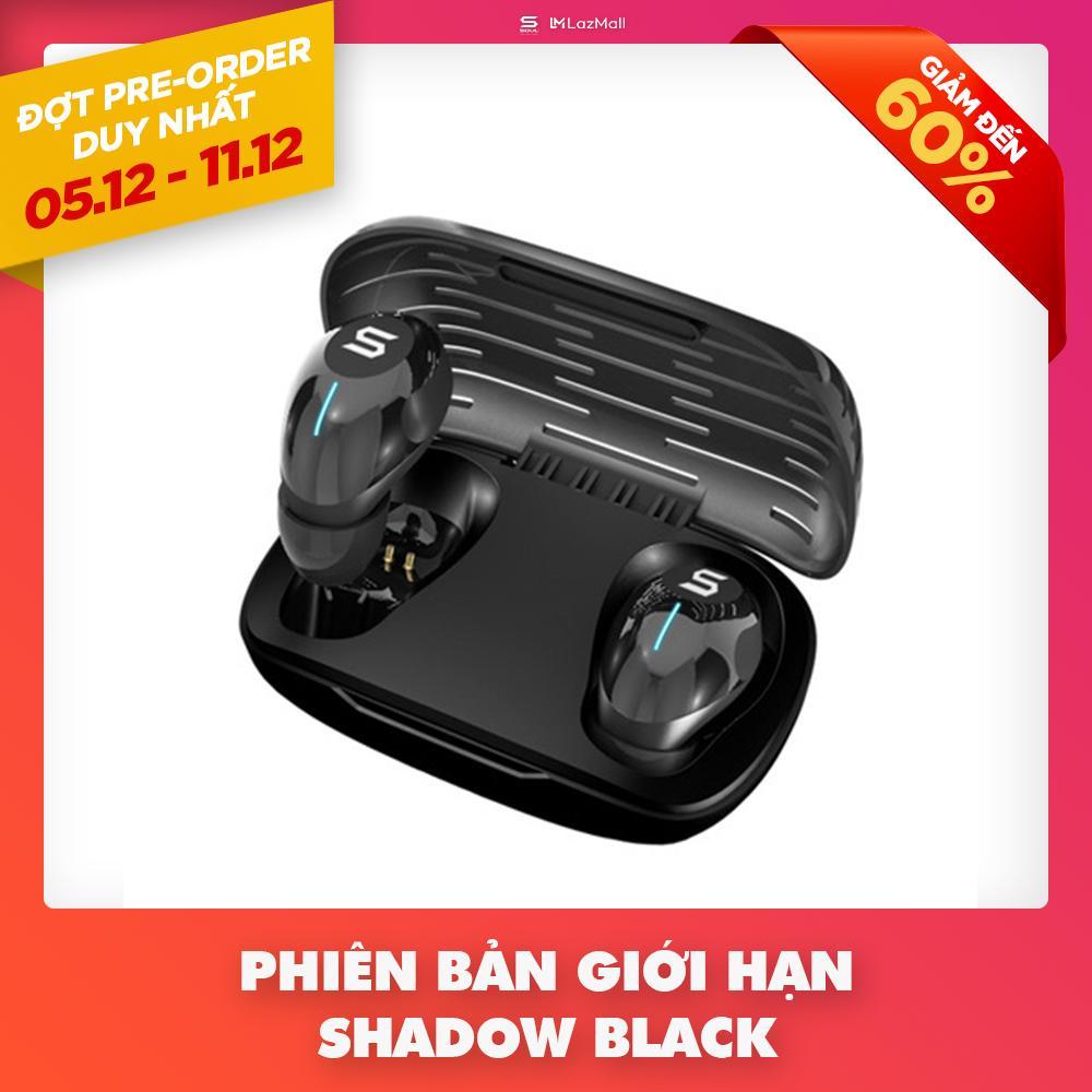 [Pre-Sale] Tai Nghe True Wireless Soul Elite Bluetooth v5.0 - Điều Khiển Cảm Ứng - Chống Nước Toàn Diện IPX7 SRMS01VBK1 - Hãng Phân Phối Chính Thức