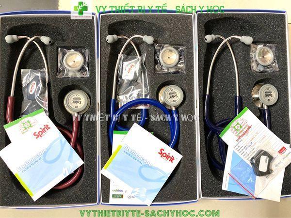 ỐNG NGHE 2 MẶT CK SS 601PF /Ống nghe y tế 2 mặt dòng Deluxe CK-SS601PF (xanh tím than)