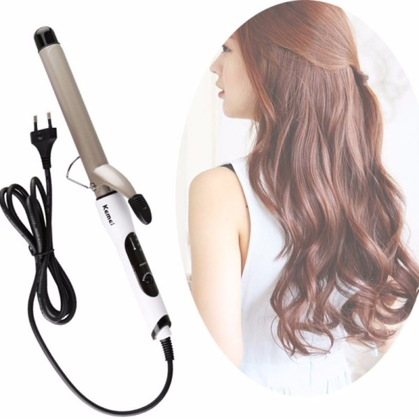 (có bảo hành) Máy uốn duỗi tóc làm xoăn kemei KM-1001A và máy là tóc km329 giá siêu rẻ