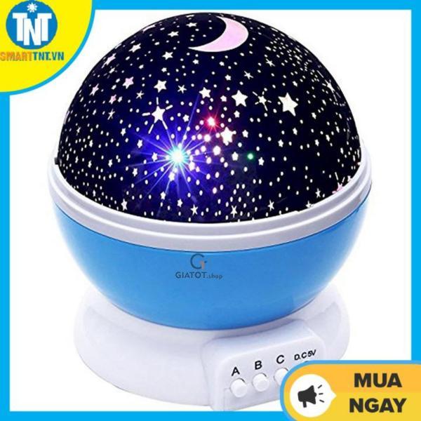 Đèn chiếu sao đèn trang trí đèn ngủ tự xoay 360 Star Master pro