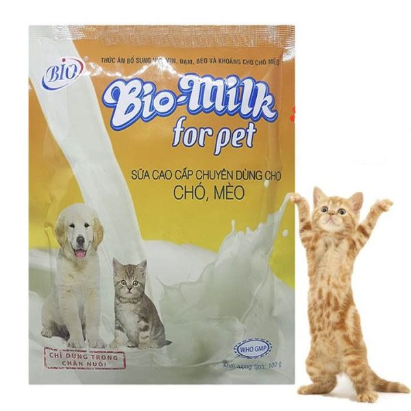Sữa Bio cho chó mèo 100ml