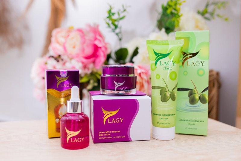 Combo YLAGY 3 món gồm Kem Face + Serum + Sữa Rữa Mặt
