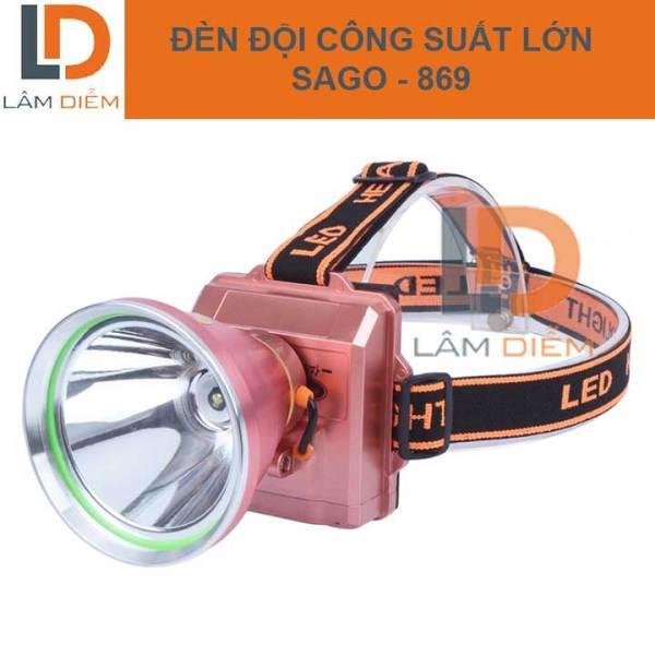 Đèn led đội đầu pin trâu 6800 mah siêu sáng 300W