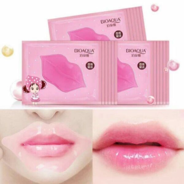 COMBO 10 MIẾNG mặt nạ môi Dưỡng môi thâm hồng xinh tươi
