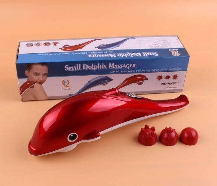 [HOT] Máy Massage Cá Heo - Small Mini H668 – Cao Cấp – Sử Dụng Pin – Nhỏ Gọn Tiện Lợi