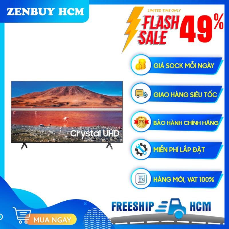 Bảng giá Smart Tivi 4K Samsung 75 inch 75TU7000 Crystal UHD (2020) - Công nghệ màu sắc:Công nghệ Crystal Display - Bộ xử lý hình ảnh:Bộ xử lý Crystal 4K tối ưu hóa hình ảnh