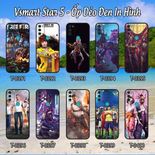 [HCM]Ốp lưng Vsmart Star 5 - Ốp dẻo đen in hình Game Online thumbnail