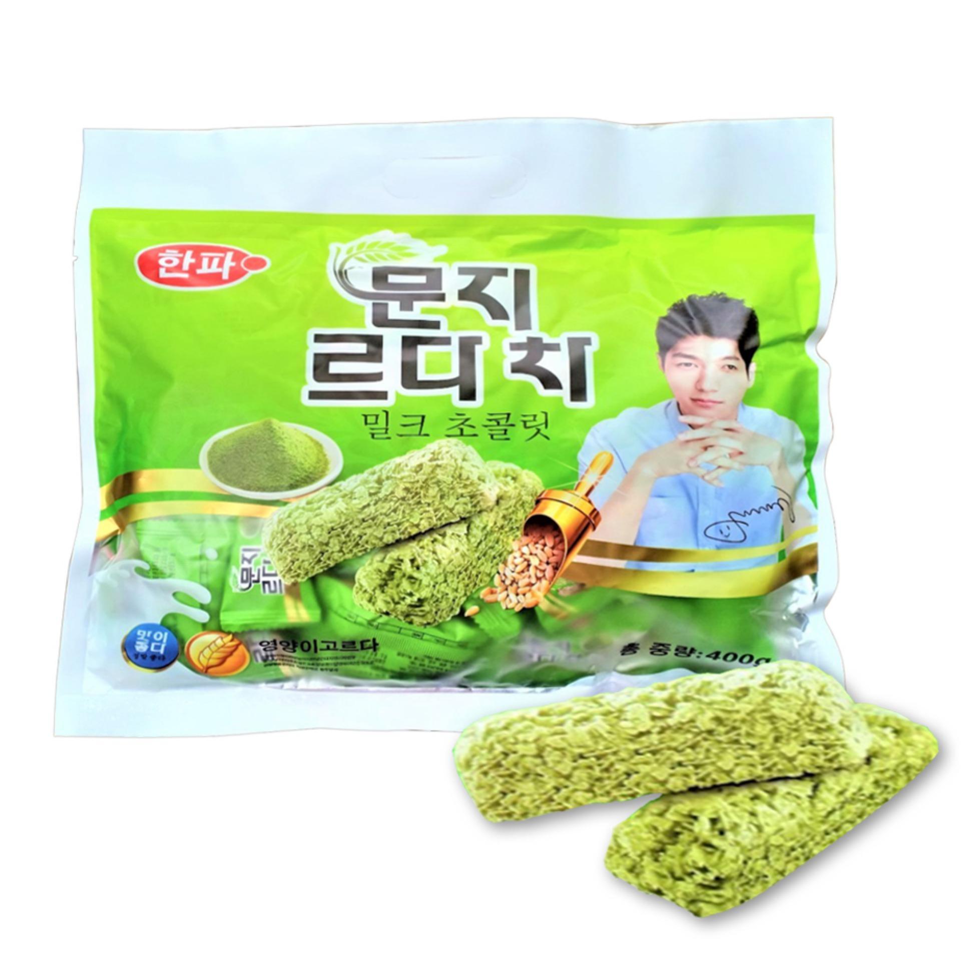Bánh Yến Mạch Trà Xanh Hàn Quốc 380gr